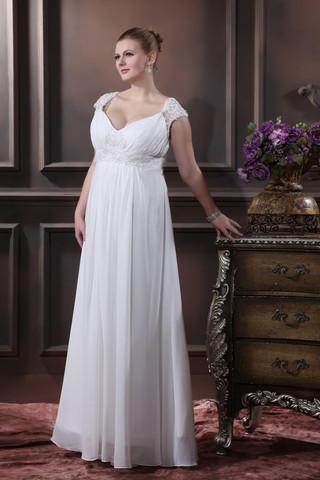 25d7bef25ed2 Consigli per lo shopping per abiti da sposa taglie forti ...
